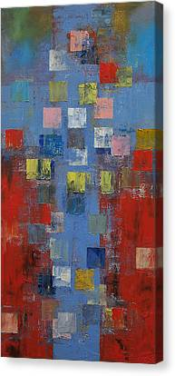 Crucifixion Canvas Print by Michael Creese