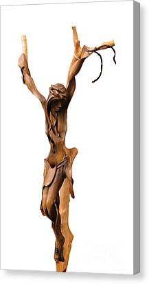 Crucifix Art Canvas Print - Crucifixion Art by Al Bourassa