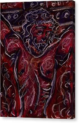 Crucifixion I Canvas Print by Rachel Scott