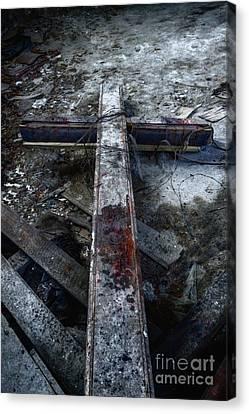 Crucifixion Canvas Print by Margie Hurwich
