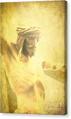 Crucifixion Canvas Print by Sophie Vigneault