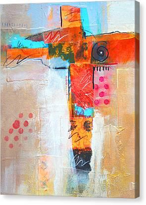 Cruciform 3 Canvas Print by Nancy Merkle