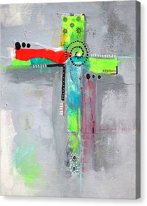 Cruciform 5 Canvas Print by Nancy Merkle
