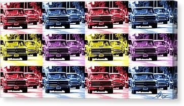 Cruise Pop 1 Canvas Print by Gordon Dean II