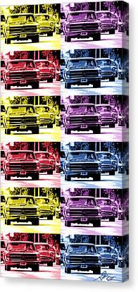 Cruise Pop 4 Canvas Print by Gordon Dean II