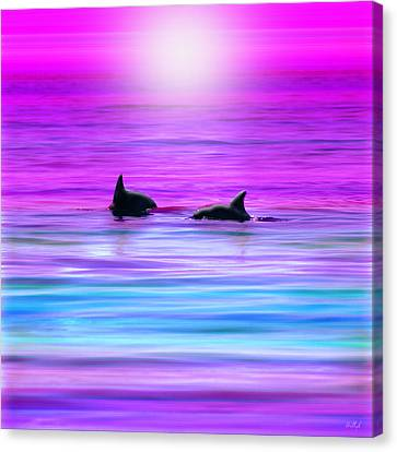Canvas Print - Cruisin' Together by Holly Kempe