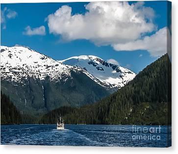 Cruising Alaska Canvas Print