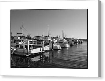 Canvas Print featuring the digital art Cruising San Diego Style 2 by Kirt Tisdale