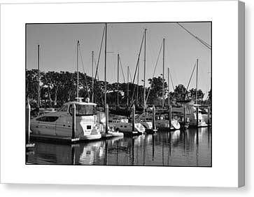 Canvas Print featuring the digital art Cruising San Diego Style by Kirt Tisdale
