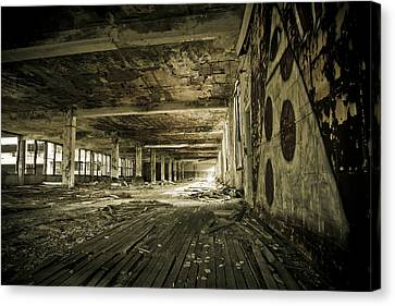 Canvas Print featuring the photograph Crumbling History by Priya Ghose