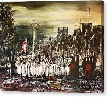 Crusade Canvas Print