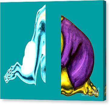 Crushing Emotion Canvas Print by Patrick J Murphy