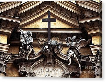 Crvx Ave Canvas Print by John Rizzuto