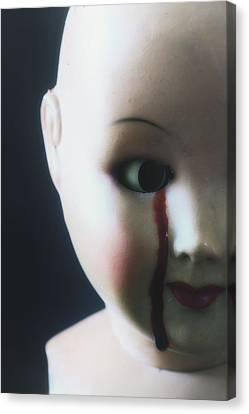 Crying Blood Canvas Print