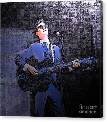 Roy Orbison Canvas Print - Crying by George Skip Bradley