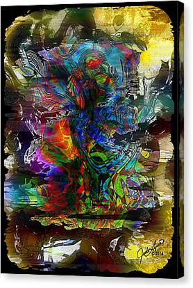 Cryptic Canvas Print - Cryptic by The Art Of JudiLynn