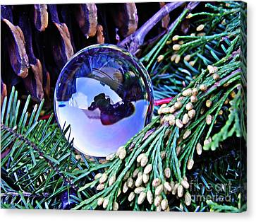 Crystal Ball Project 65 Canvas Print