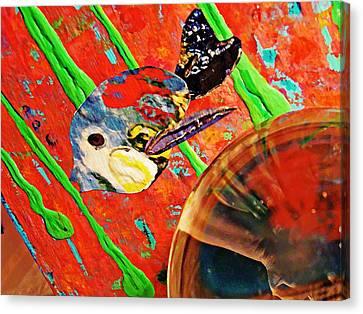 Crystal Ball Project 85 Canvas Print by Sarah Loft