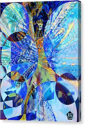 Crystal Blue Persuasion Canvas Print by Seth Weaver