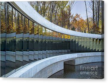 Crystal Bridges Canvas Print by Elena Nosyreva