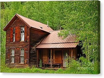 Crystal Cabin Canvas Print