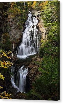 Crystal Cascade Canvas Print