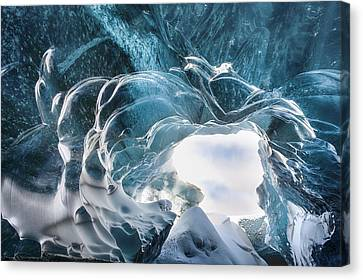 Crystal Cave Canvas Print by Timm Chapman