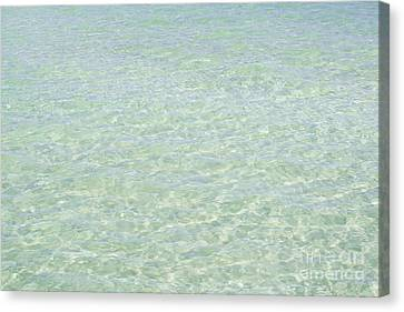 Crystal Clear Atlantic Ocean 2 Key West Canvas Print