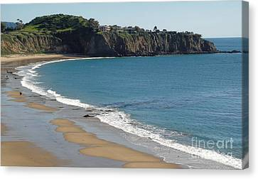 Crystal Cove View - 02 Canvas Print by Gregory Dyer