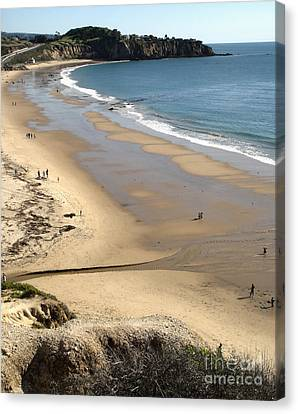 Crystal Cove View - 03 Canvas Print by Gregory Dyer
