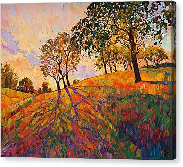 Crystal Hills Canvas Print by Erin Hanson