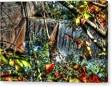 Crystal Lake Falls Canvas Print