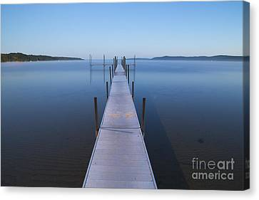 Crystal Lake Pre Dawn Canvas Print