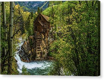 Crystal Colorado Canvas Print - Crystal Mill Co by Peter Irwindale