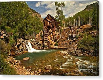 Crystal Mill Landscape Canvas Print by Adam Jewell