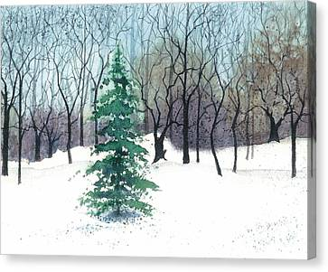 Crystal Morning Canvas Print by Barbara Jewell