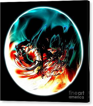 Crystal Planet Canvas Print by Bernard MICHEL