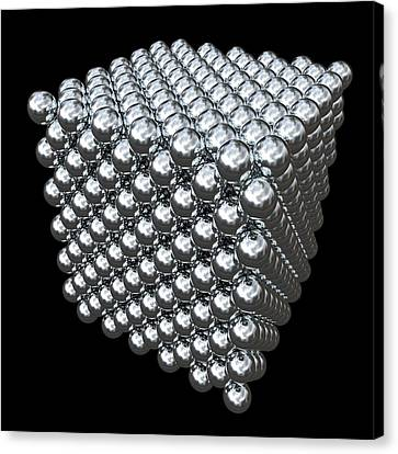 Crystal Structure Of Thorium Canvas Print