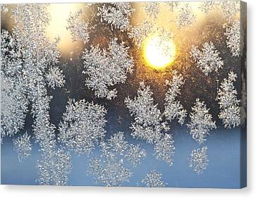 Crystal Sunrise Canvas Print