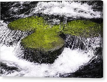 Crystal Water  Canvas Print by Sotiris Filippou