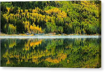 Metalic Canvas Print - Crystal's Colors by Darren  White