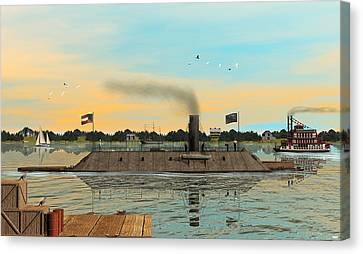 Css Virginia Canvas Print by Walter Colvin