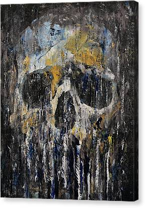Painterly Canvas Print - Cthulhu by Michael Creese