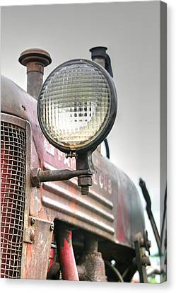 Cub Tractor Canvas Print by Heather Allen