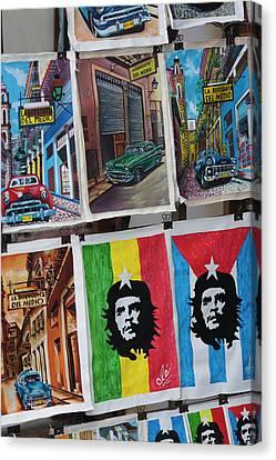 Cuba, Havana, Havana Vieja, Centro Canvas Print