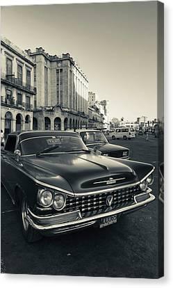 Cuba, Havana, Havana Vieja, Detail Canvas Print