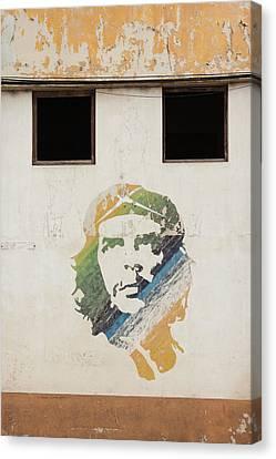 Cuba, Havana, Havana Vieja, Wall Canvas Print