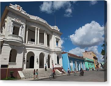 Cuba, Sancti Spiritus Province, Sancti Canvas Print