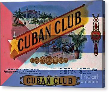 Cuba Vintage Canvas Print