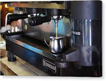 Cuban Coffee Canvas Print by Andres LaBrada